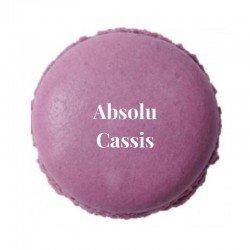 Macaron Absolu Cassis