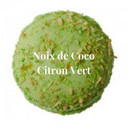 Macaron Noix de coco et Citron Vert